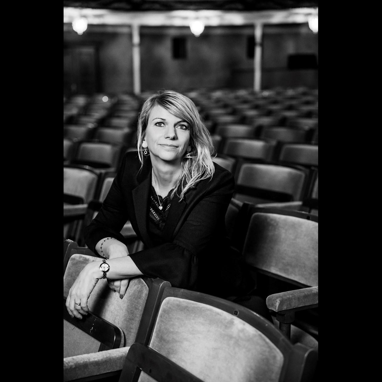 Teaterdirektør Trine Holm Thomsen - Foto Isak Hoffmeyer